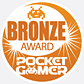 Pocket Gamer Bronze Award